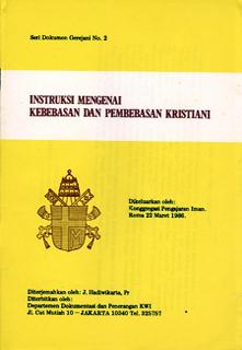 "DG No. 2 "" Instruksi Mengenai Kebebasan & Pembebasan Kristiani"""