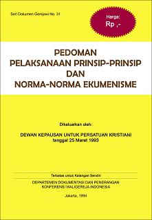 Pedoman Norma Ekumenisme SDG-No-31
