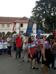 salib IYD Keuskupan Bogor