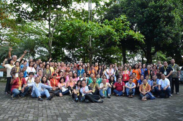 Foto bersama pertemuan Komkel KWI dengan kelompok kategorial keluarga